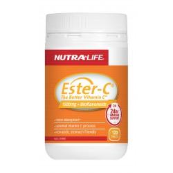 0142 Ester C 1500mg  Bioflavonoids 120T AU only de1125d7d8ea7645165c4ed37623d181